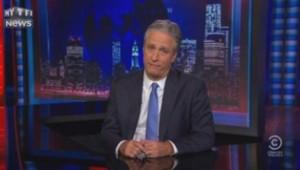 Jon Stewart fait ses adieux au Daily Show