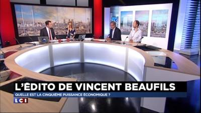 L'édito de Vincent Beaufils : quelle est la cinquième puissance économique ?