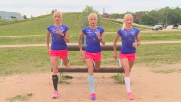 Leila, Liina et Lily, ces triplettes en route pour les Jeux de Rio