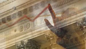 Montage photo : la Bourse de Paris