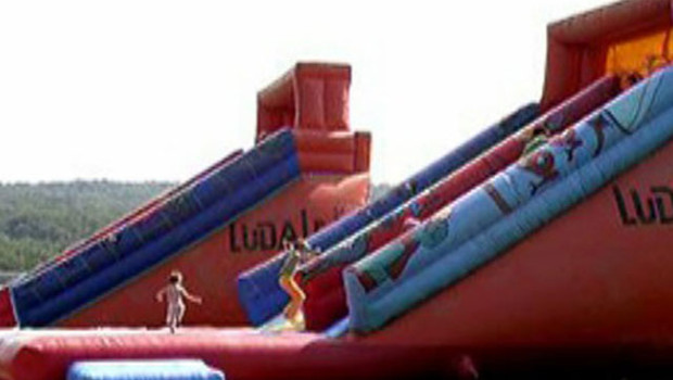 toboggan attraction parc