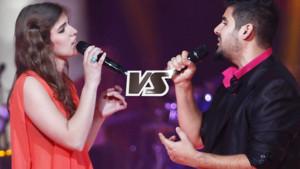 The voice, duel Pia Salvia et Patrice Carmona sur Angie (Equipe Louis Bertignac)