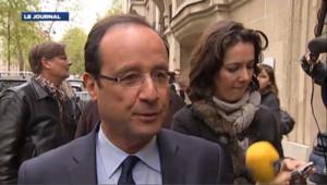 """Hollande """"pas dans la préparation d'un examen mais d'une rencontre avec les Français"""""""