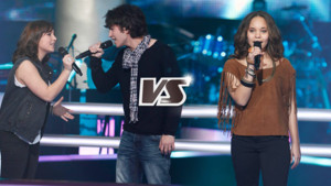 The Voice, duel Julien et Pauline sur Pas besoin de toi (Equipe de Louis Bertignac)