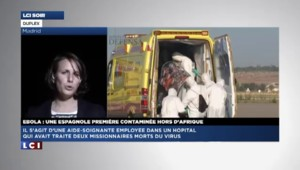 """Aide-soignante espagnole contaminée par le virus Ebola : """"Les protocoles ont été respectés"""""""