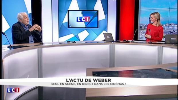 """""""Éclats de vie"""" : Jacques Weber, seul sur scène et en direct au cinéma"""