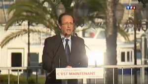 En Corse, Hollande éreinte le bilan sécuritaire de Sarkozy