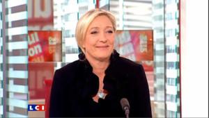 """Marine Le Pen : """"le programme d'Hulot est proche du mien"""""""