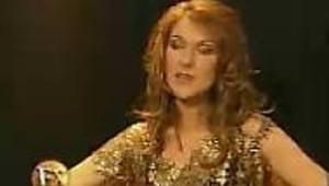 Céline Dion ,une jeune mère épanouie