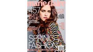 Kristen Stewart en couverture du Marie Claire US édition mars 2014