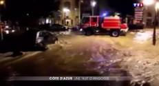 Le département des Alpes-Maritimes pris au piège des pluies diluviennes