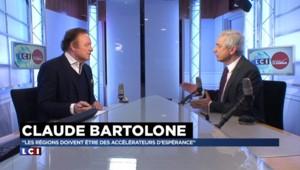 """Régionales : """"Si je perds, je remettrai mon mandat en jeu à l'Assemblée"""" annonce Bartolone"""