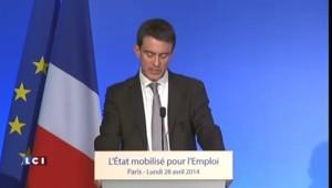 """Valls : """"Les marges dégagées par les entreprises doivent servir à l'investissement et à l'emploi"""""""