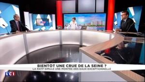 """Crue centennale de la Seine : pour la RATP, """"un enjeu de 3 milliards d'euros"""""""