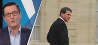 """Olivier Dartigolles, porte-parole du PCF : """"Manuel Valls est devenu inquiétant et dangereux"""""""
