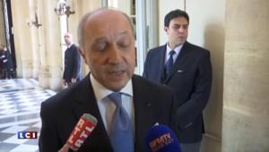 """Fabius : """"L'issue de la transition politique c'est le départ de Bachar Al Assad"""""""