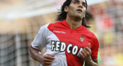 Radamel Falcao, l'attaquant star de l'AS Monaco.