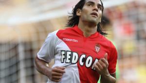 Radamel Falcao, l'attaquant star de l'AS Monaco.