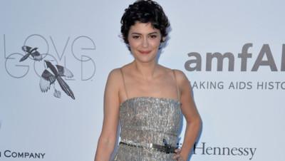 Audrey Tautou au gala de l'amfAR à Cannes le 24 mai 2013