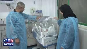 Gaza : une femme enceinte meurt, son bébé miraculé