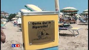 Italie : une plage non-fumeur à côté de Venise