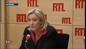 """Le vote FN, """"un vote d'espérance et d'adhésion"""", selon Marine Le Pen"""