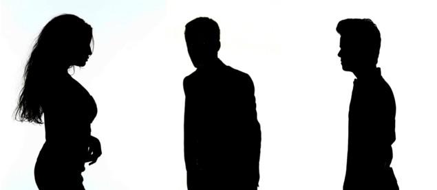 Les 3 premiers candidats en ombres chinoises