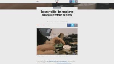 Capture d'écran du site Rue 89.