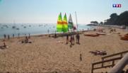Dernières baignades aux sables d'Olonne