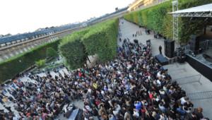 La fête de la musique dans le jardin du Palais Royal