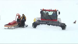 Le 13 heures du 4 décembre 2014 : Par�d%u2019un manteau blanc, Isola 2000 attend les skieurs - 1363.946