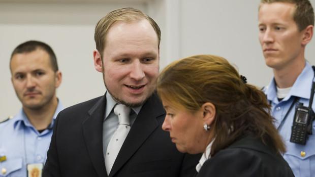 Le procès d'Anders Behring Breivik le 1er juin 2012