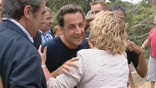 TF1-LCI : Nicolas Sarkozy au Fort de Brégançon, le 26 mai 2007