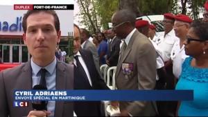 Chômage, Aimé Césaire, climat… François Hollande poursuit sa tournée des Caraïbes