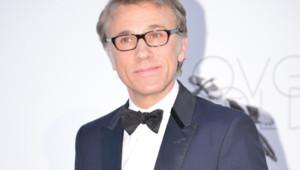 Christoph Waltz au gala de l'amfAR à Cannes le 24 mai 2013