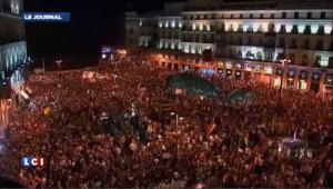 Espagne : à Madrid, matraques et balles de caoutchouc contre les manifestants