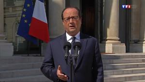 Le 13 heures du 25 juillet 2014 : Crash du vol AH5017 : Hollande n%u2019�rte aucune hypoth� - 100.39199999999998