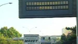 pollution ozone panneau
