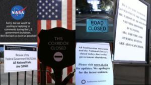 """""""Shutdown"""" aux Etats-Unis le 1er octobre 2013"""