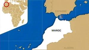 TF1-LCI la carte du maroc