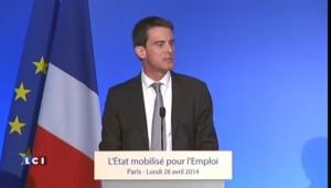 """Valls : le plan de stabilité """"est nécessaire, il est indispensable"""""""