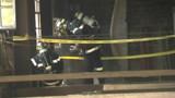 Un entrepôt en flammes à Aubervilliers