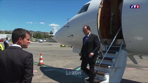 De Nice à Paris, en passant par Avignon : la journée de crise de François Hollande