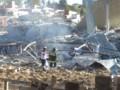 Environ 40% de la structure de l'hôpital Cuajimalpa a été endommagé par l'explosion.