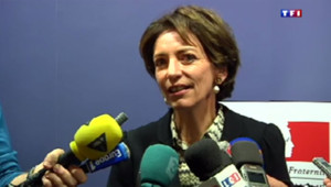 La ministre de la Santé Marisol Touraine, à Chambéry le 5 janvier 2014