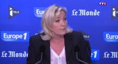 Le 20 heures du 3 mai 2015 : Marine Le Pen ne veut plus que son père parle au nom du FN - 770.773