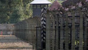 Le camp d'Auschwitz/Image d'archives