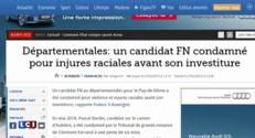 Le nouveau dérapage d'un candidat FN sur twitter