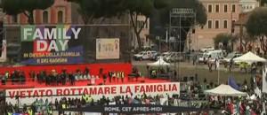 Rome : des milliers d'opposants au mariage gay attendus pour manifester