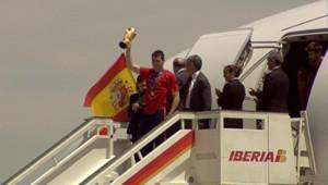 Arrivée de Cesc Fabregas à Madrid le 11 juillet 2010